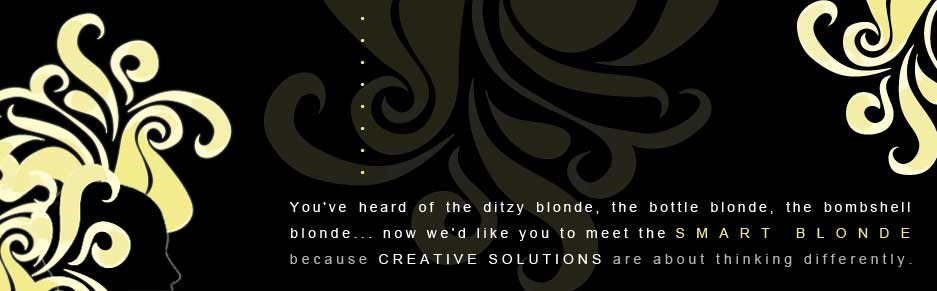 Smart BLonde Creative - Let Us introduce